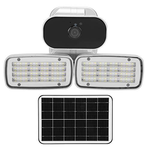 1080P de Alta definición 4G de visualización Nocturna Detección de Movimiento Monitor de Patio Cámara Solar 160 Luces para la Seguridad del Patio del jardín(American Version)