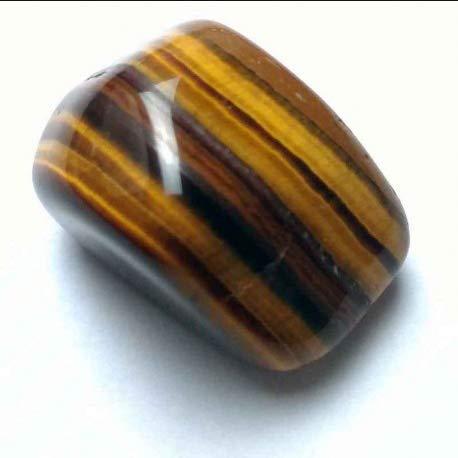 piedra rodada ojo de tigre calidad AA+