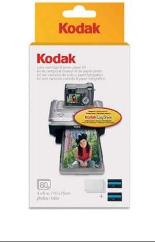 KODAK PH-10 EasyShare Printer Dock Color Cartridge /& Photo Paper Refill Kit