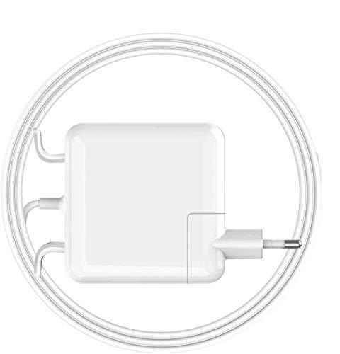 Zasunky Mac Book 45W Cargador adaptador de corriente Mags Safe T-Tip Cargador conector magnético T-Tip para A1436 A1425 A1435 A1466 Mac Pro 13 Retina [Fin 2012, 2013 2014, comienzo 2015]