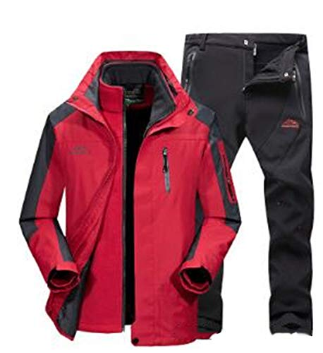 SR-Keistog Männer Winter wasserdichte Hosen und Jacken Frauen Skianzüge Snowboardanzug Sport Damen Schneesportbekleidung as show14 XL