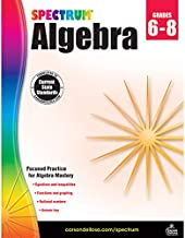 Spectrum | Algebra Workbook | Grades 6-8, 128pgs