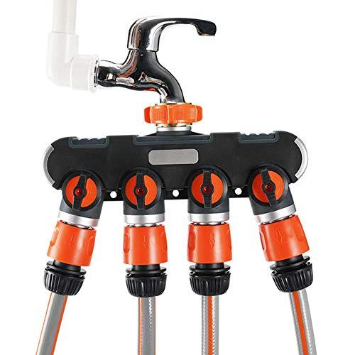QINYUP Waschmaschine Wasserhahn Universal Joint Wasser-Rohr-Schnittstelle Kolben-Splitter-Hahn EIN Punkt Zwei Punkte Vier Zubehör