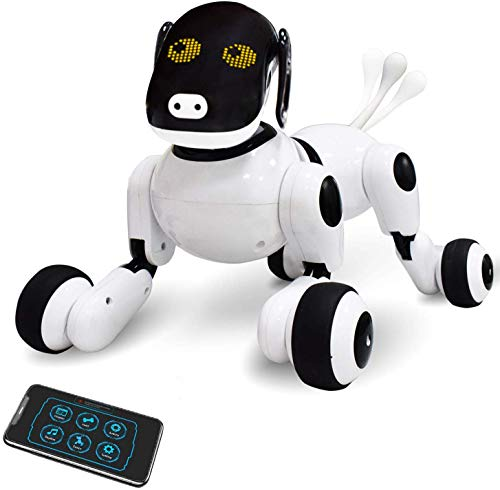 Contixo Puppy Smart V2 Robot Dog - Walking Pet Toy - App Controlled Robot for Kids - Interactive...