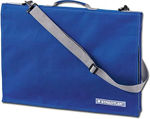 Staedtler LR 661 14 Zeichenplattentasche (mit Griff, DIN A4, wasserabweisend, strapazierfähiges Nylon, verstellbarer Schultergurt, integrierte Handytasche)