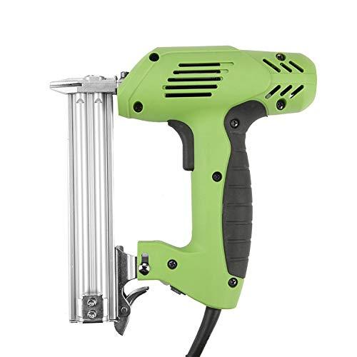 Elektrische Naglerpistole Gerade Nail Gun Nail Gun Handgesteuertes Nagelwerkzeug für Möbel Holzbearbeitung mit EU Stecker Adapter