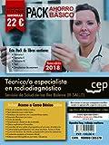 PACK AHORRO BÁSICO. Técnico/a especialista en radiodiagnóstico. Servicio de Salud de las Illes Balears (IB-SALUT). (Incluye Temarios I, II, III, Test, Simulacros de Examen)