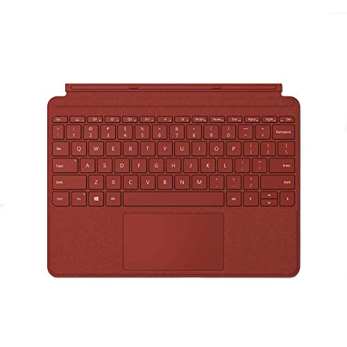 Microsoft KCS-00088 Surface Go Signature Type Cover, Mohnrot (Deutsches Tastaturlayout;QWERTZ)