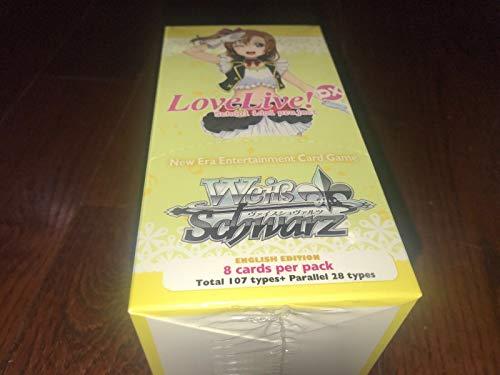 Weiss Schwarz Love Live! DX School Idol festival ENGLISH Version Booster Box - 20 packs / 8 cards!