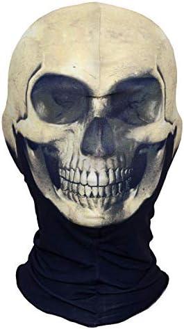 AXBXCX 3D Skeleton Lycra Masks Scary Skull Balaclavas Ghost Headwear Cosply Costume Halloween product image