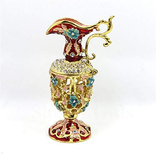 Vase Aufbewahrungsbox Vintage Handgemalt Klappbar Einzigartiges Geschenk Home Decor Beste Verzierung Ihrer Sammlung