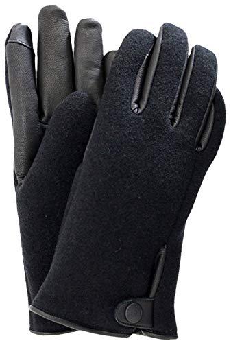 UGG heren handschoenen SNAP TAB FABRIC TECH GLOVE houtskool