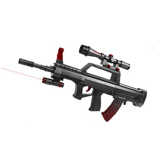 QJJ Toy Boy Gun Secuela eléctrica Suck Suction Cup Pistola de Espuma Incluso Lanzador de niños Juego de niños 95 Tipo Rifle de Asalto (Size : B)