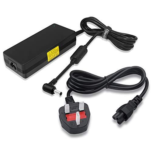 Delippo 120W 19.5V 6.15A Laptop AC Adapter Charger Compatiable for MSI GP60 GE60 GE62 GE70 GT640 GT725 CX62 GL62 GE70K Z370 for Lenovo Y730 B470 B475 B570 K47 G470 V570 Z570 Y460 Y570 V475y
