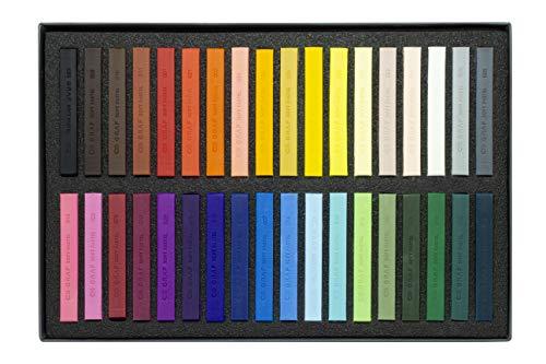 Giz Pastel Seco Graf Soft, CIS, Estojo com 36 cores sortidas