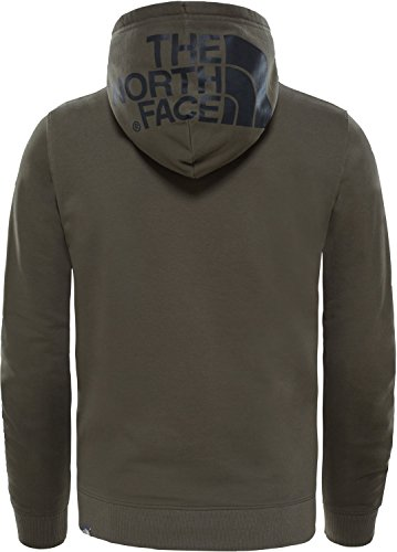 The North Face Drew Peak PO LT Sweat-Shirt à Capuche pour Homme, Couleur Taupe, Taille XS