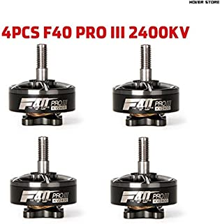 Part & Accessories 4PCS T-motor F40 PRO II/F40 POPO 1600KV 2400KV 2600KVFPV Brushless Electrical Motor T-motor T5143 Propeller For FPV Racing Drone - (Color: 4PRO III Gray 2400KV)