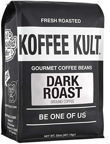 Koffee Kult Dark Roast Ground Coffee (32oz)