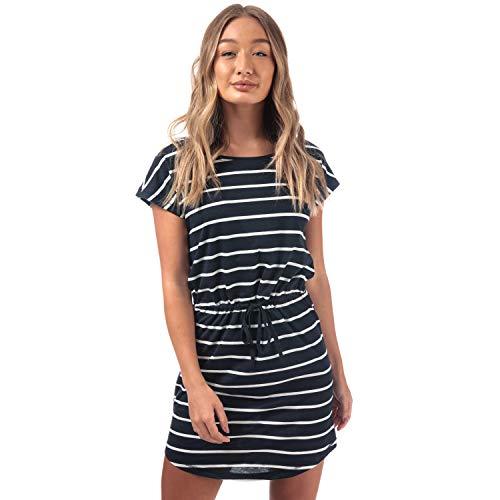 ONLY Damen Onlmay S/S Dress Noos Kleid, Mehrfarbig (Night Sky Stripes:Primo Stripe CL. Dancer), (Herstellergröße:M)