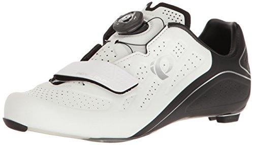 Pearl iZUMi Women's W Elite Road V5 Cycling Shoe; White/Black; 40 EU/8.4 B US