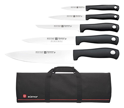 Wüsthof TR9780-5 Chef Set with 5 Silverpoint Knives