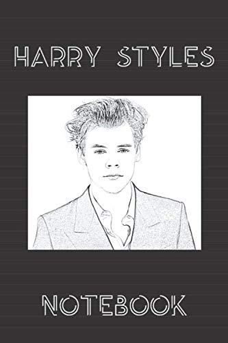 Harry Styles Notebook: Lined workbook for One and Only Fans | version # 5