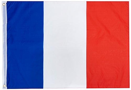 Rubie's-déguisement officiel - Rubie's- Drapeau France - 90 x 60 cm- 170267