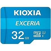 Kioxia 32GB Exceria U1 Class 10 microSD