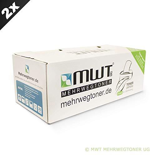 2X MWT Drucker Patronen für Ricoh Aficio MP 161 171 201 Ln s f SPF L ersetzt 888261 TYPE1270D Schwarz