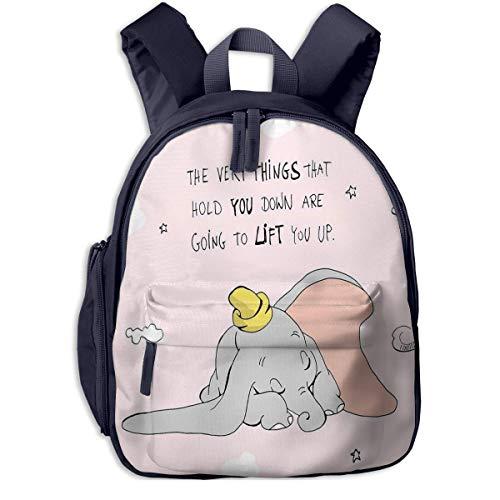 Vamos, Mochilas Escolares Dumbo para niñas, niños, niños, Mochilas de Escuela Primaria, Mochila, Mochila de Viaje al Aire Libre