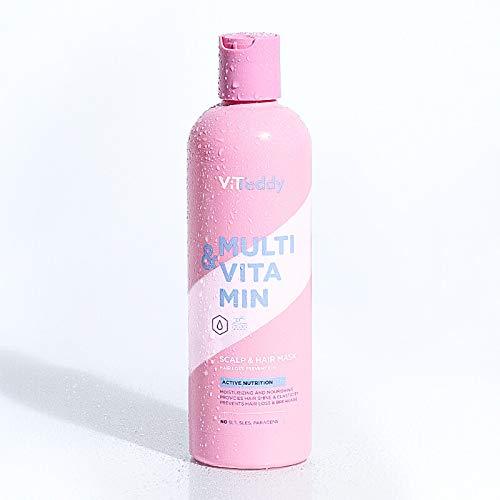 Ltanis ViTeddy Scalp & Hair Mask Hair Loss Prevention Mascarilla Vitamínica Para El Cabello, Proporciona Nutrición Al Cabello - 350 ml