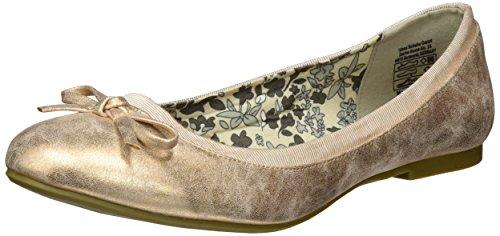 JANE KLAIN Damen 221 794 Geschlossene Ballerinas, Gold (GOLDROSE), 39 EU