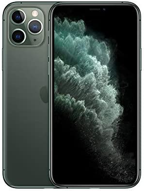 Apple Simple Mobile Prepaid – Apple iPhone 11 Pro Max (64GB) – Midnight Green [Locked to Carrier – Simple Mobile]