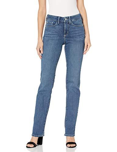 NYDJ Women's Marilyn Straight Denim Jeans, New Heyburn, 6