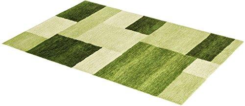 ASTRA Livorno D. 151 Teppich, Polyester, grün, 70 x 140 x 0,27 cm