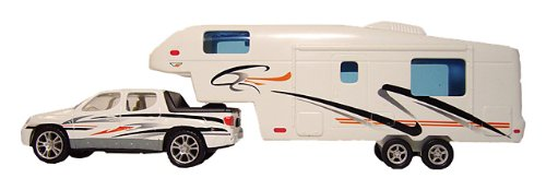 Prime Products - 107.1109 27-0020 RV Toys - Pick Up and 5th Wheel Trailer