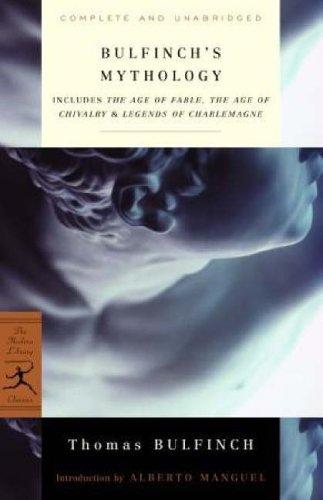 Bulfinch's Mythology (Modern Library Classics) by Bulfinch, Thomas(August 11, 1998) Paperback