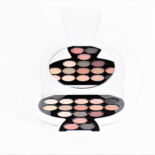 Karl Lagerfeld - Model Co Choupette Collectable Eyeshadow Lidschatten Palette Day to Night - Smokey/Burgundy 13,6g