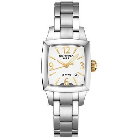 Certina Damen-Armbanduhr XS Certina DS Prime Shape Analog Edelstahl C004.310.11.037.00