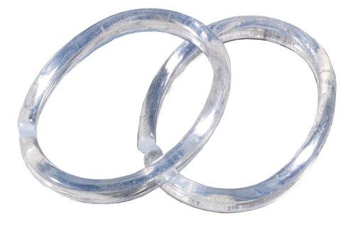 Sealskin Duschvorhangringe 12 Stück, Glasklar