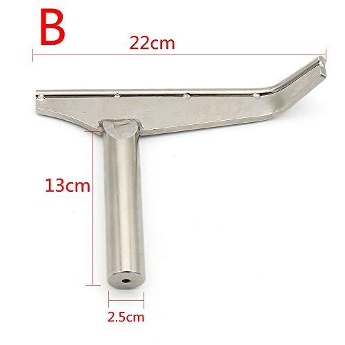 Werkzeugauflage für Holzdrehmaschinen Holzbearbeitung Spezialdrehmaschinen für gebogene Drehmaschinen (B)