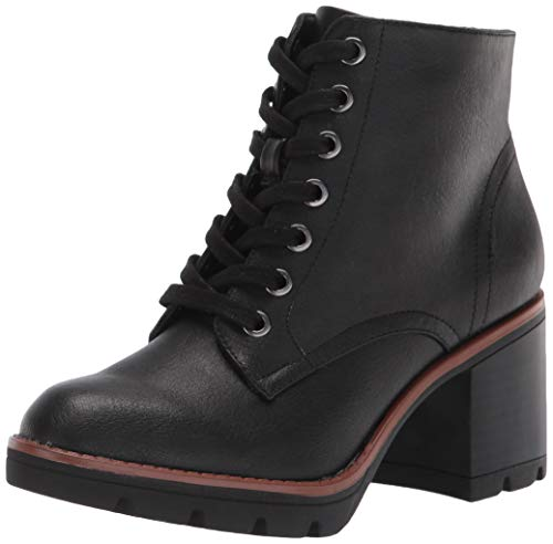 Naturalizer Women's Madalynn Ankle Boot, Black Smooth, 8