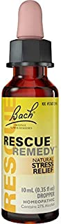 Rescue Remedy Dropper, 10ml - Natural Homeopathic Stress Relief