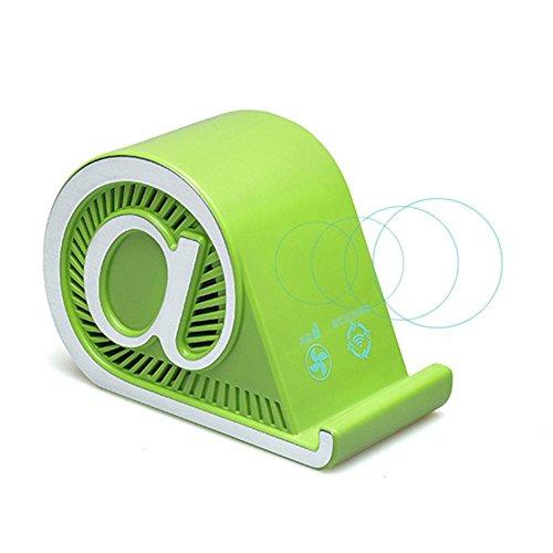 Naken Auto-luchtreiniger mini draagbare luchtreiniger voor kantoor en huis, 15 x 10 x 7 cm Groen