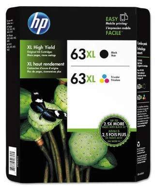 63XL Black/Color Combo Ink Cartridges, 2 pk