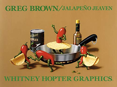 1art1 Greg Brown, Jalapeño Jeaven Poster Art Print (24x18 Inches) and 1x Collection Poster