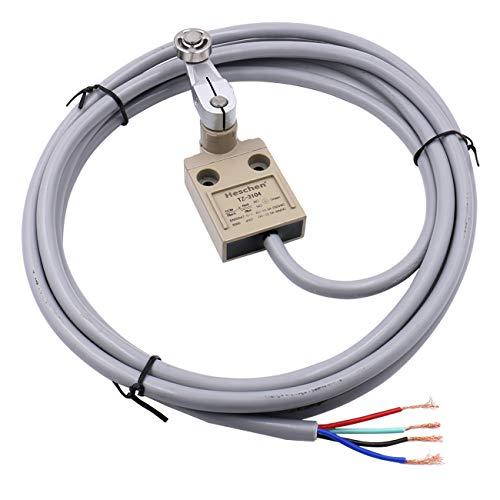 Heschen TZ-3104 - Interruptor de límite con cable compacto (250 V, 5 A, IP67)