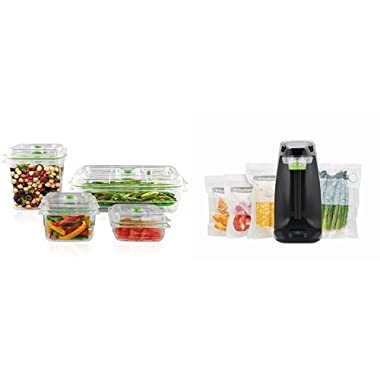 FoodSaver Fresh Appliance and Fresh Containers bundle