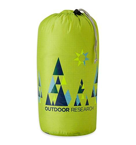 Outdoor Research Woodsy Sac de rangement 15 l, Mixte, 250176, Jaune citronelle, taille unique