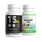 T5 XL & Raspberry Plus Weight Management - 2 Month Supply - 120 Vegetarian Capsules - UK Manufactured By Natural Answers Ingredients Include: Caffeine,L Tyrosine, Apple Cider Vinegar,Raspberry Extract